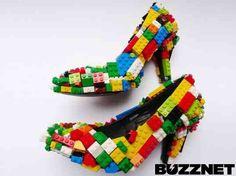 Weird & Wacky Fashion: Lego Heels