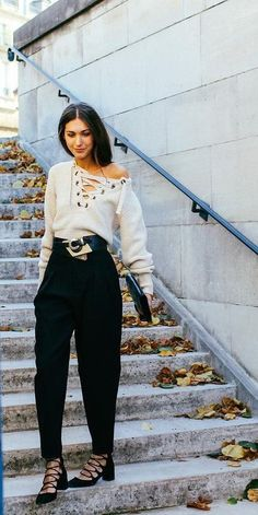 The lace-up trend is dominating the fashion scene right now, here's how.