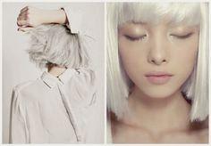 Chic Adicta, fashionista, japon, fashion, white hair, gray hair, cabello blanco, hair trends-, trendy girl, Piensa en Chic www.PiensaenChic.com