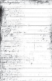 Vintage Record Sheet (MBG1712)