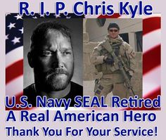 "Chris Kyle, the deadliest sniper in USMC history with 160 confirmed kills, nicknamed by the Taliban ""The Devil of Ramadi"" and had a bounty on his head, killed by a troubled soldier at a Texas shooting range. Danny Dietz, Marcus Luttrell, Chris Kyle, Military Life, Military History, Military Quotes, Military Veterans, Naval Special Warfare, My Champion"
