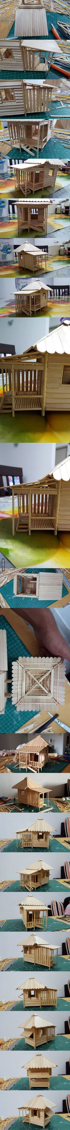 Step by Step to Make a Mini Beach Hut Part 3