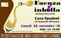 #FaenzaInBolla #nonsolobollicine