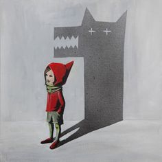Little Red Riding Hood - Le petit Chaperon Rouge - Your Shadow by Sasha Kisselkova