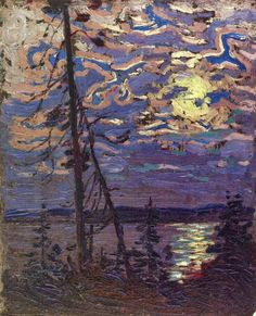 Specialists in selling artwork by Tom Thomson and other Canadian artists for over sixty years. Contact us to sell your artwork by Tom Thomson. Emily Carr, Group Of Seven Paintings, Paintings I Love, Canadian Painters, Canadian Artists, Nocturne, Landscape Art, Landscape Paintings, Tom Thomson Paintings