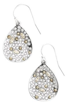Alexis Bittar 'Miss Havisham' Crystal Encrusted Teardrop Earrings