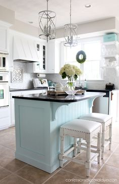 Supreme Kitchen Remodeling Choosing Your New Kitchen Countertops Ideas. Mind Blowing Kitchen Remodeling Choosing Your New Kitchen Countertops Ideas. Kitchen Countertop Materials, New Kitchen Cabinets, Kitchen Countertops, Soapstone Kitchen, Wall Cabinets, Kitchen Tables, Kitchen Flooring, Kitchen Dining, Diy Kitchen Remodel
