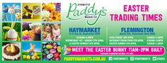 Welcome To Sydney's Paddy's Markets