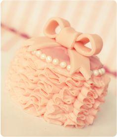 vintage bridal tea party cake