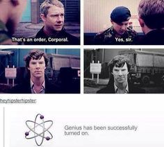 i don't even ship johnlock but this was too funny not to repin