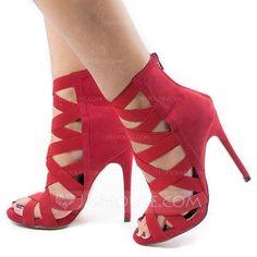 8c2bde64d8e  US  65.99  Women s PU Stiletto Heel Sandals Pumps Peep Toe shoes   peeptoeshoes