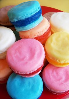 Delicious French Macaron Soap 2 Pack by LoveLeeSoaps on Etsy, $7.00