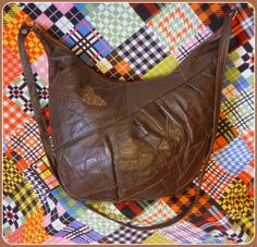 Vintage Beutel Tasche Leder XL Schultertasche Bag Shopper Messenger Handtasche | eBay