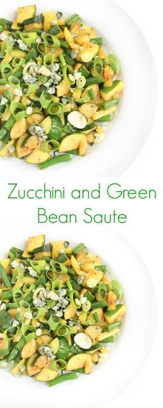 Zucchini and Green Bean Saute - The Lemon Bowl