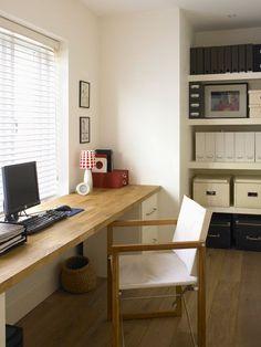 Long Space Saving Desk