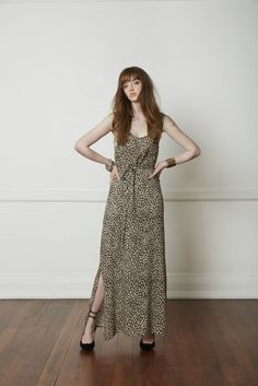 Carlson Harper's Dress - Leopard