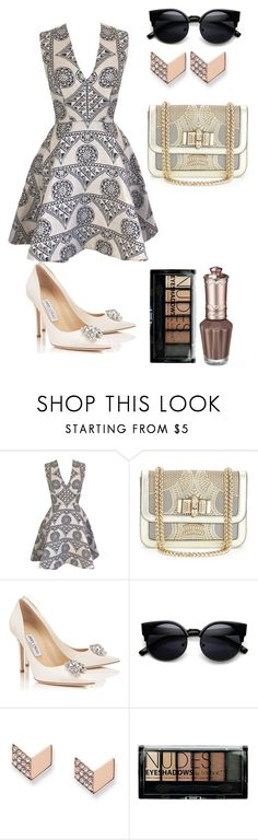 """""""Untitled #12"""" by lily-ngugi on Polyvore featuring Joana Almagro, Christian Louboutin, FOSSIL and Boohoo"""
