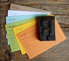 Recipe Cards 21 pack addition by 1canoe2 on Etsy