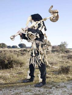 Charles Freger explores human fascination with folklore and mythology Tribal Costume, Folk Costume, Tribal Outfit, Afro Punk, Charles Freger, The Doors Of Perception, Europe, Art Plastique, Anthropology