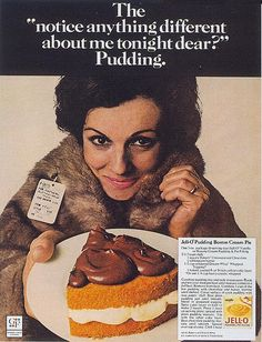 Jell-O Gelatin, 1970. Distract him from the dead animal you just purchased by feeding him dessert.