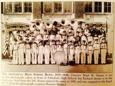Ashtabula High band~ I wish I knew if my Father was in this photo..