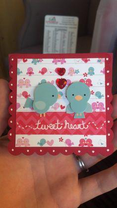 Doodlebug Designs   Love Birds Card