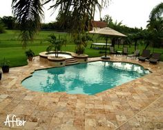 roman pool remodel afterlove the shape of this pool - Roman Swimming Pool Designs