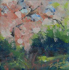 - Blooming Tree  by Deborah Ferree. Original available through my Etsy website.  DeborahFerreeArtCafe.