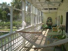 Who doesn't like a large porch for hanging out & drinking some lemonade on a summer day?
