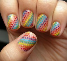 Awesome rainbow dots