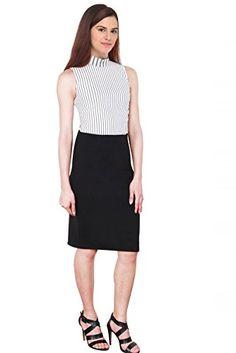 TotzNY - White & BlackTimes Sqare Elegent Striped Cut Sle... http://www.amazon.in/dp/B06X9545TY/ref=cm_sw_r_pi_dp_x_CtUczb1J3MMW3