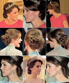 katemiddletons:  Duchess of Cambriddge's hair