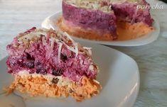 Bombový cviklovo-mrkvový šalát (fotorecept) - recept | Varecha.sk Muffin, Breakfast, Food, Meal, Eten, Meals, Muffins, Morning Breakfast