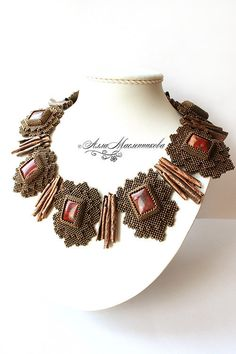 Spicework necklace By:  Alla Maslennikova of Bead Lady