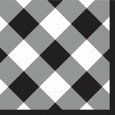 Design Gingham-Black Luncheon Napkin, 20 per Bag, (Pack of 2) by Design Design. $10.88. Lucheon napkins. Full color. 3 ply tissue. Design Design currently offers over 15,000 products. All the products are designed by their art department of 25 people and are manufactured to their specifications by vendors all over the world. Design Design product categories include social expression products, paper tableware, gift packaging products, soft goods, ceramic, metal,...