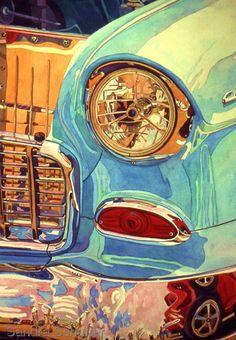 Watercolors by Sandra Schaffer, WHS, TWSA: Bumper Crowd