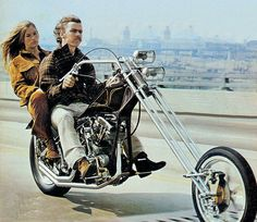 1970s style, before choppers were mass produced