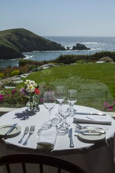 Ocean view, table for 2.