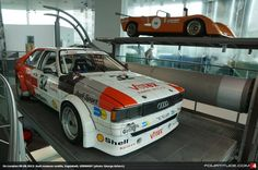 Audi Coupe GT Circuit Racer NSU Thurner RS at Audi museum mobile
