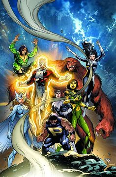 Alpha Flight by Dale Eaglesham