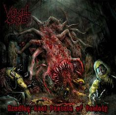 Vomit God - Exuding Anal Pustule Of Society (2014), Brutal Death Metal