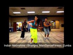 Indian Moonshine - Bhangra, ManiDanceFitness, Zumba Absolutely, one of my favorites....balle, balle!!!