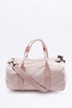 BDG Mini Pink Canvas Gym Bag 516034028ecce