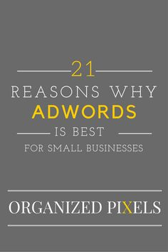 Local Business Should Use Adwords to generate leads.