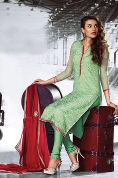 Classy Chiffon Designer Party Wear Salwar Kameez