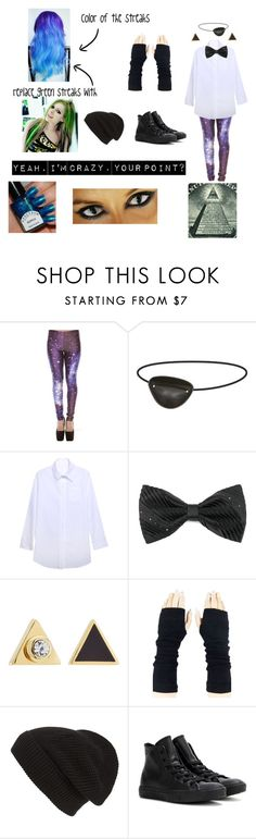 """Illuminati Girl"" by freakingcrazy ❤ liked on Polyvore featuring Relaxfeel, Marc by Marc Jacobs, Phase 3, Converse, women's clothing, women, female, woman, misses and juniors"