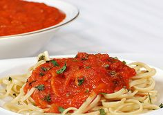 Dreamfields Basic Tomato Sauce with Linguine