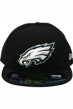 NFL Philadelphia Eagles On Field 5950 Black Cap, 7 1/4 by New Era. $28.91. This On Field 59Fifty Is The Official On-Field Cap of National Football League and Is Worn by Every National Football League Player. Performance Is Enhanced Through Coolera Technology Featuring Revolutionary Wicking, Superior Drying, and Shrink Resistance. Designed with An Embroidered (Raised) Team Logo At Front and Stitched National Football League Logo Patch At Back. Interior Includes Branded Taping As W...