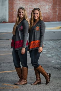 Show your team spirit in these gorgeous OU and OSU sweaters! S.M.L.XL $30