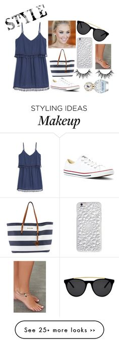 """""""Style!"""" by mila14love on Polyvore featuring MANGO, Converse, Michael Kors, Smoke & Mirrors and Marc Jacobs"""